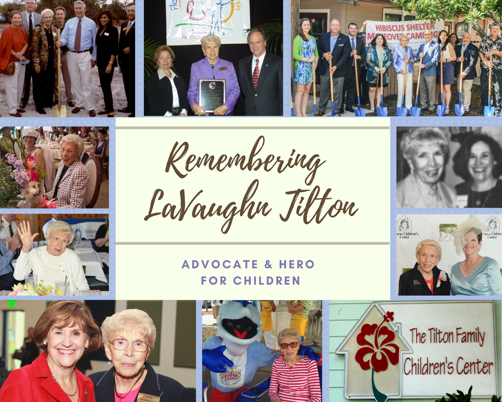Remembering LaVaughn collage