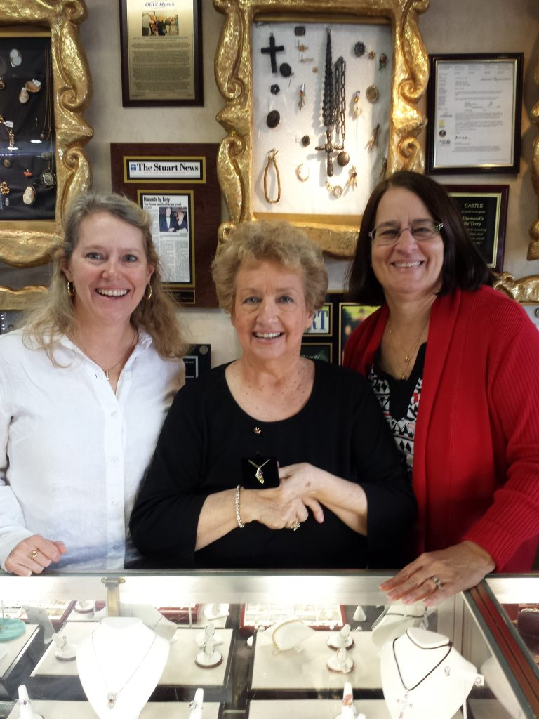 Ellen Houts, Terry Rieger, Mary Zottoli