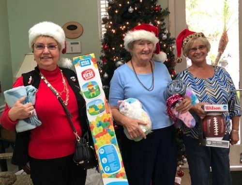Indian River Community Makes the Holidays Bright for the Hibiscus Village Youth