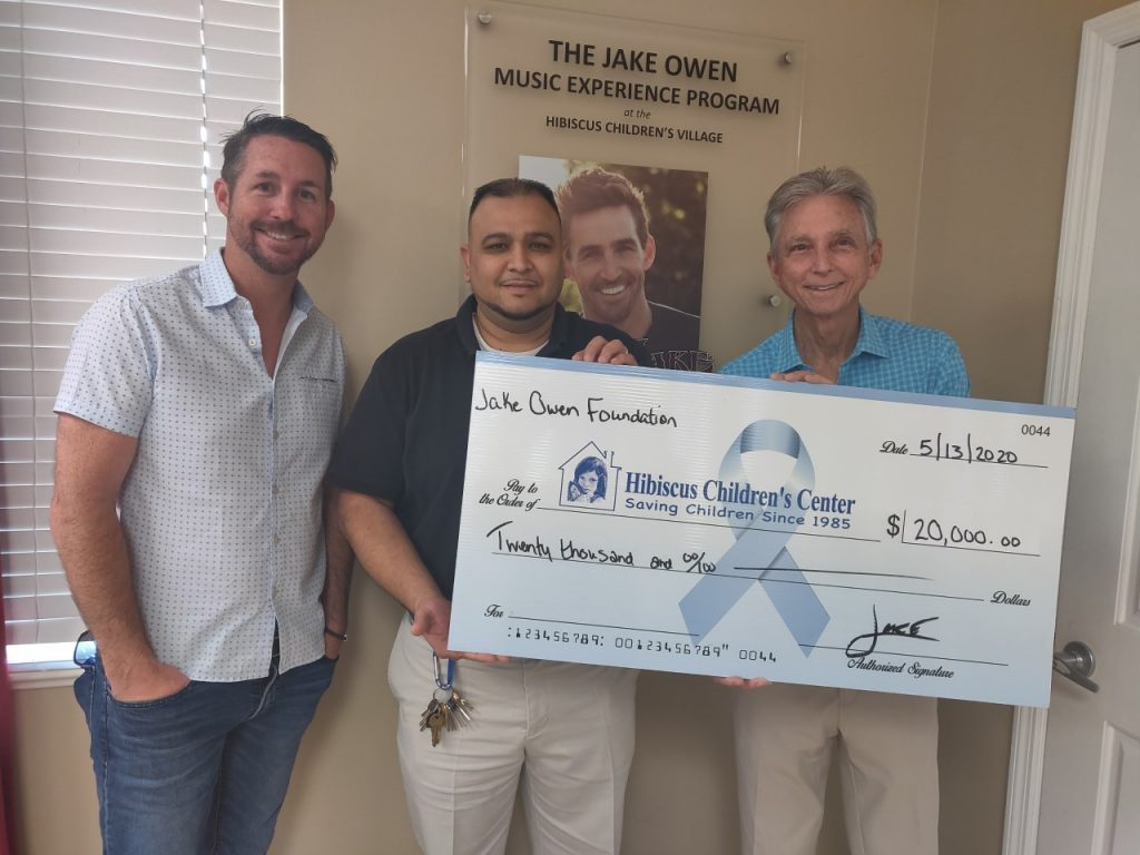 Jake Owen Foundation donation