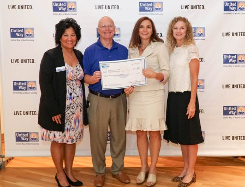 Hibiscus Children's Center Receives Literacy Grant from United Way of Martin County