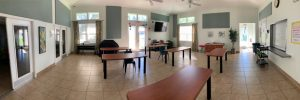Shelter dining room