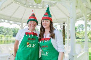 Santa's Elves Ellen & Ashley