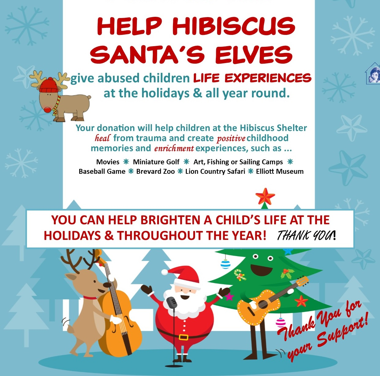 Santa's Elves flyer