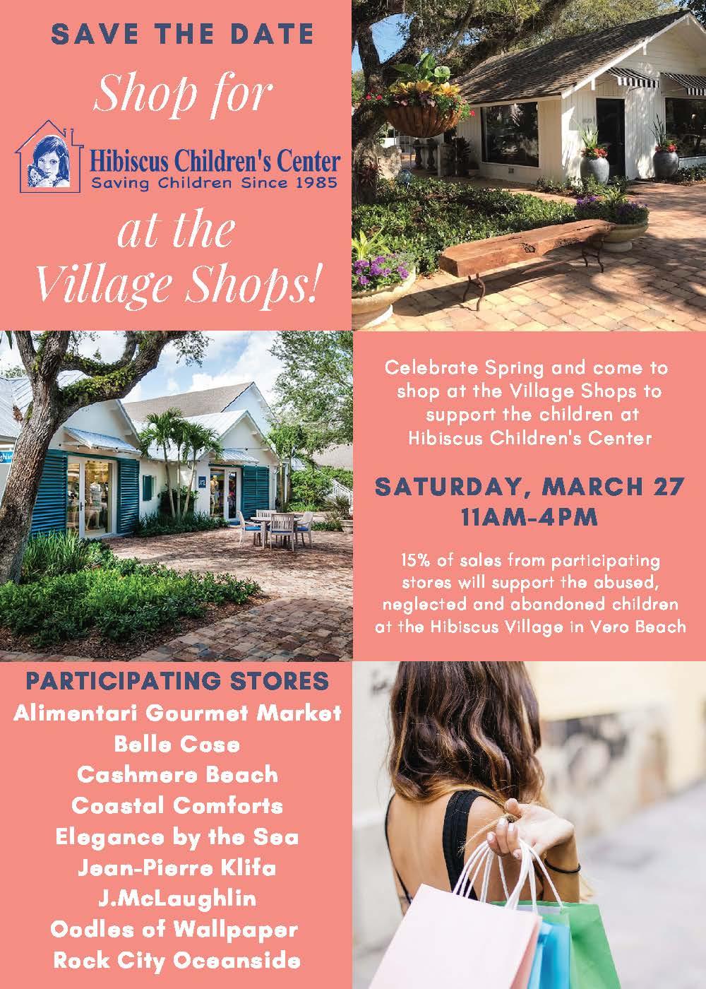 Village shops flyer