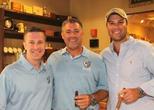 Smoke Inn golf event co-chairs