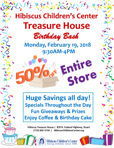 Thrift Store Birthday Bash Sales & Promotions