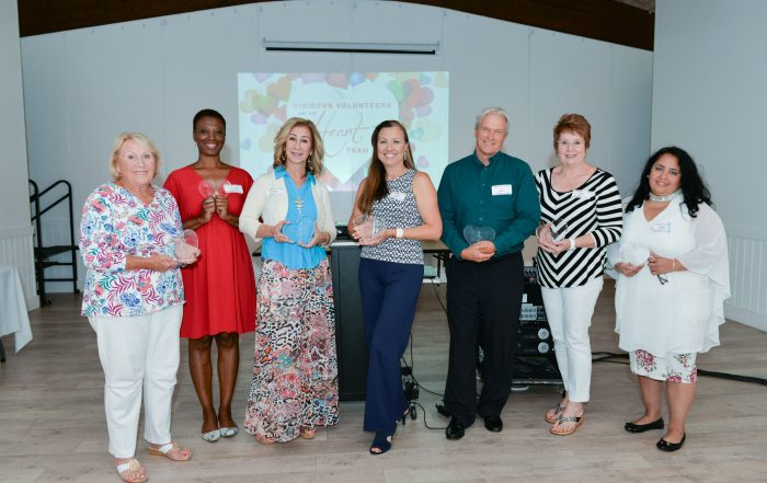 Hibiscus Volunteers of the Year winners